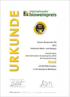 Int. Bioweinpreis